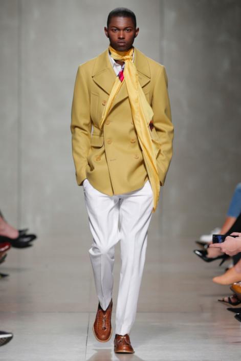 Designer Miguel Vieira auf der Moda Lisboa, Foto ©RuiVasco